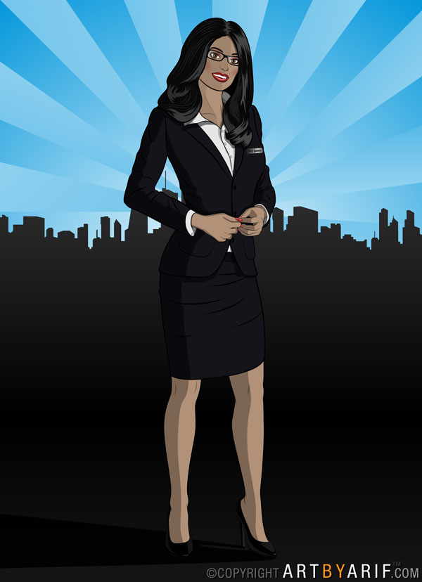 Indian Business Woman by arif-rocks