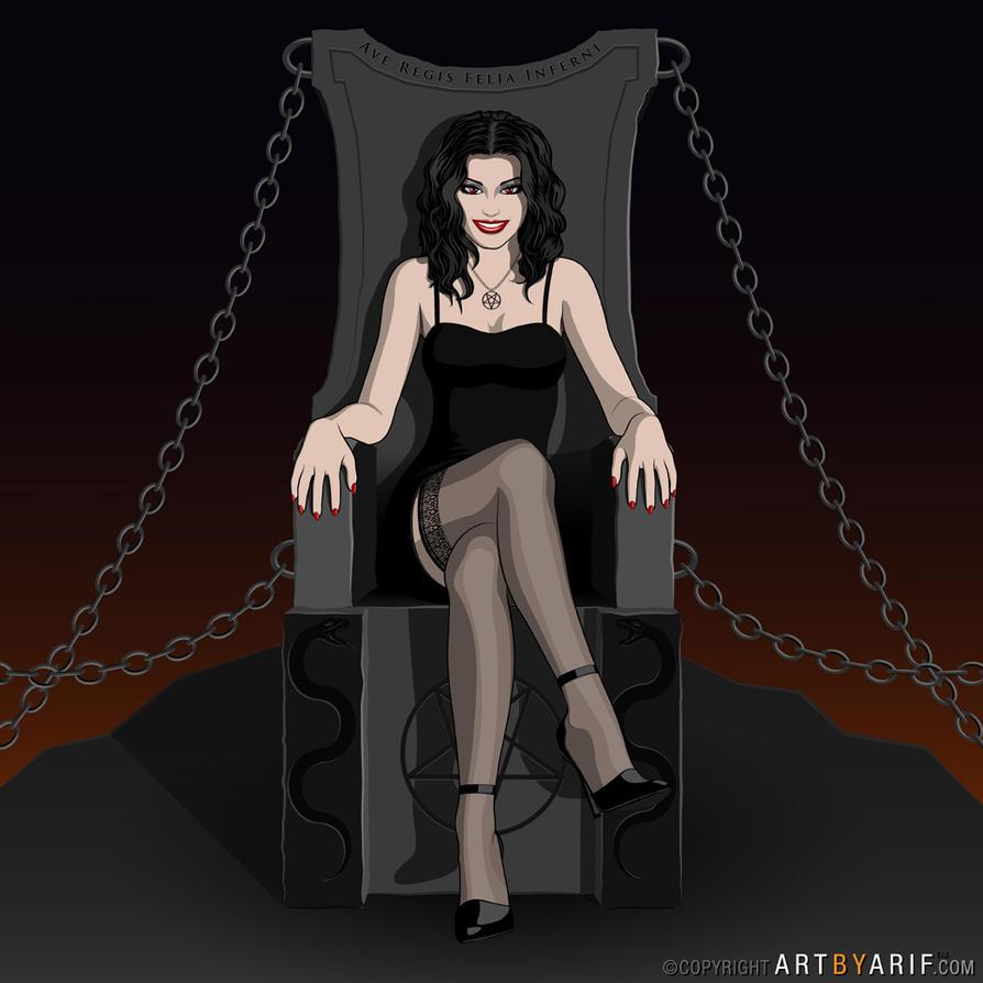 Lucifer's Daughter by arif-rocks
