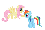 Rainbow Dash and Fluttershy-Just wait you will see