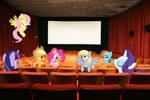 Ponies at the cinema
