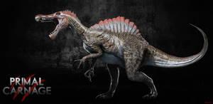 Primal Carnage reskin: JPIII Spinosaurus