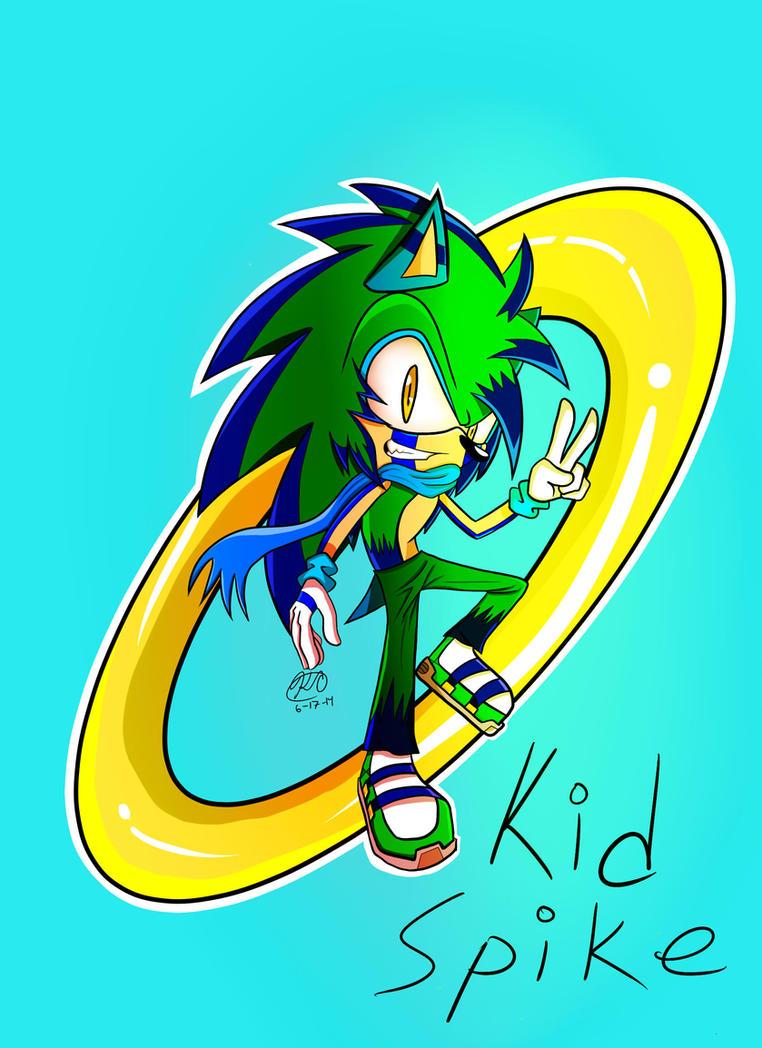 Request: Kid Spike by LeanakoRisenka98