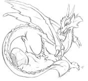 dragon and egg by sadrlegends