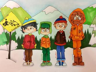 Try Guys X South Park by ryu-gachaslushie