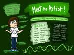 Lil' Poundcake Enjoys Drawing Weird Stuff...