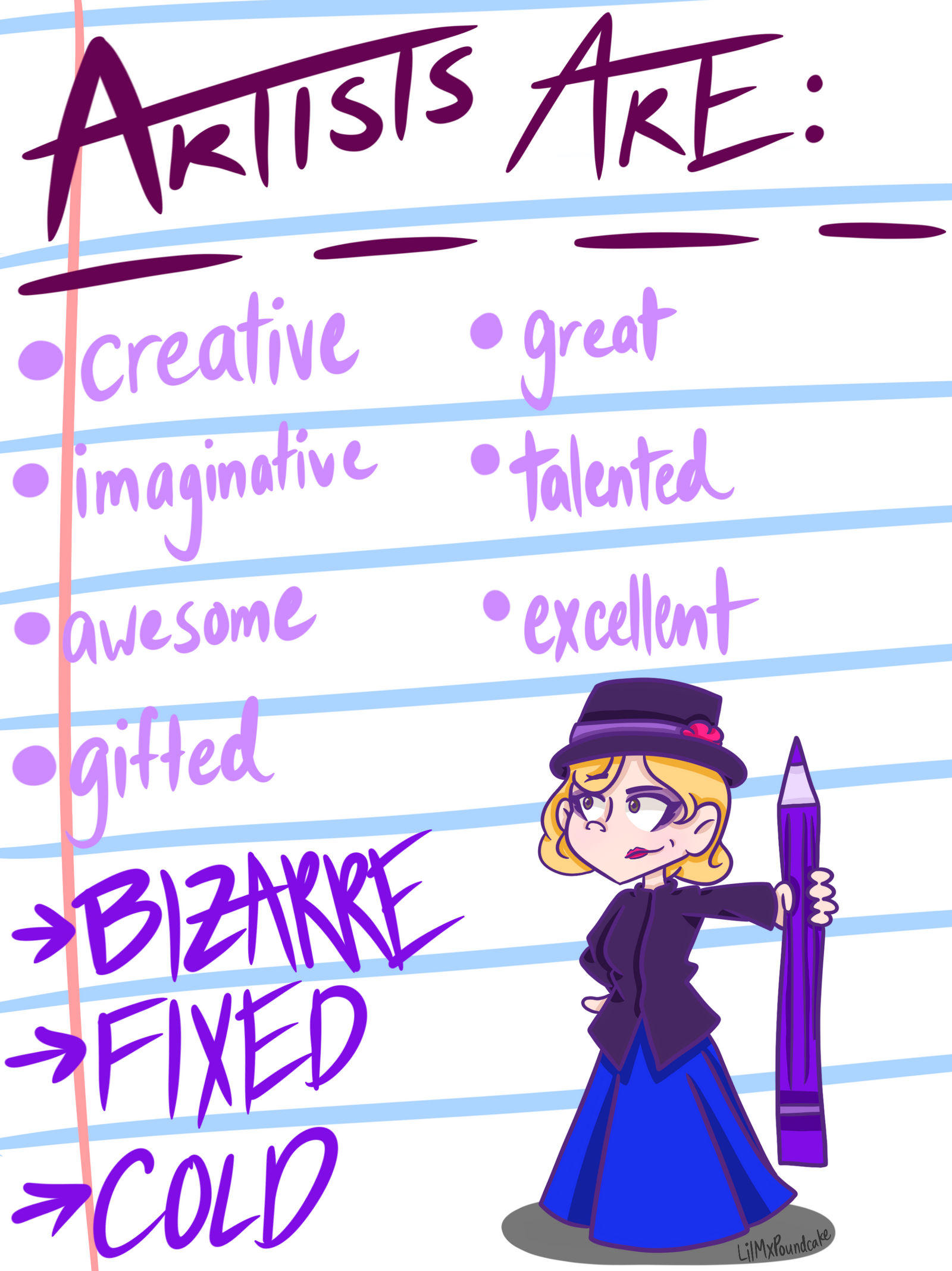 Adjectives To Describe Artists