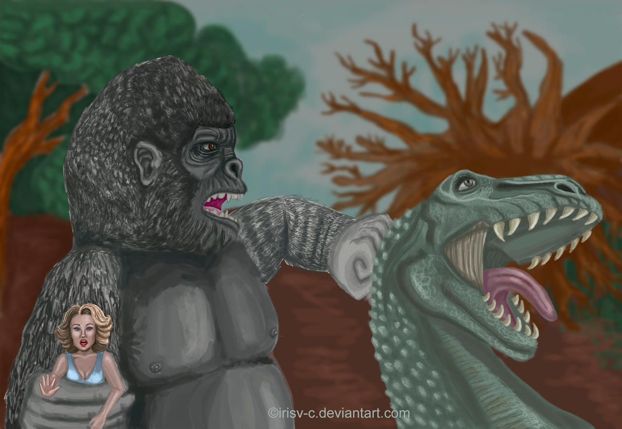 King kong, 'I will protect you' by irisv-c