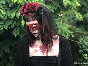 Rose skull - Halloween 2019