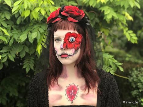 Rose skull - Halloween 2019 - link video below