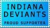 Indiana Deviant Support Stamp by Indianadeviants