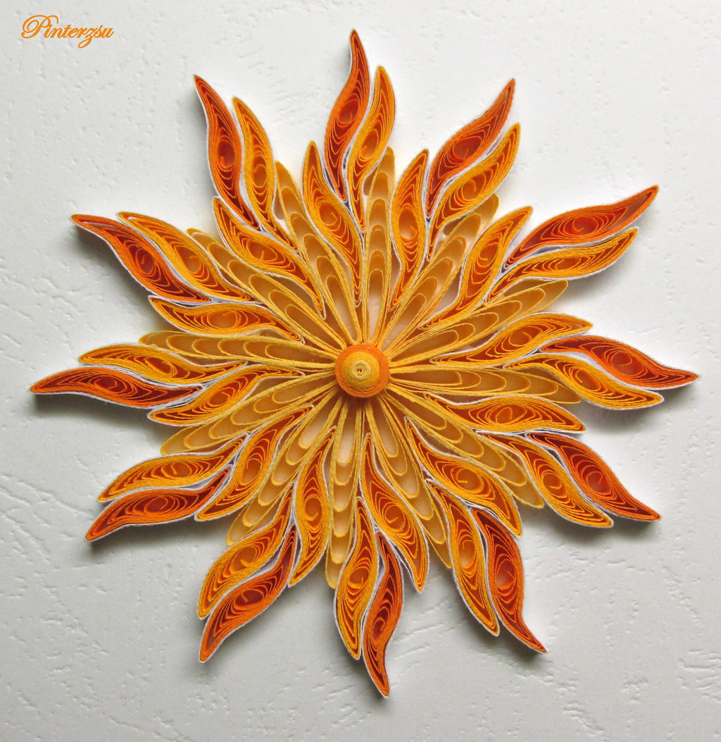 Quilling by pinterzsu on deviantart - Paper quilling art wallpapers ...