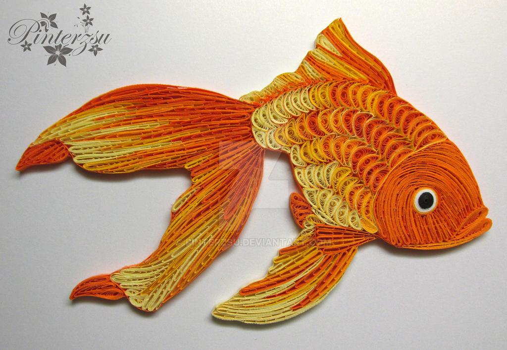 Goldfish by pinterzsu