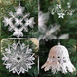 Christmastree ornaments by pinterzsu