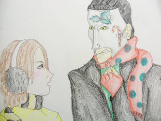 Alissa and Erik by wheretearsrunblack