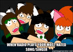 Meme: Car Radio (Family For Five) by claire-the-cute-pup