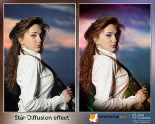 Star diffusion effect by Taradaciuc
