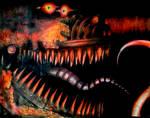 Nightmare Foxy (color Pencil)