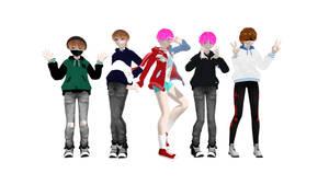 [BTS B-Day Gift] BTS JK B-Day Model pack ~