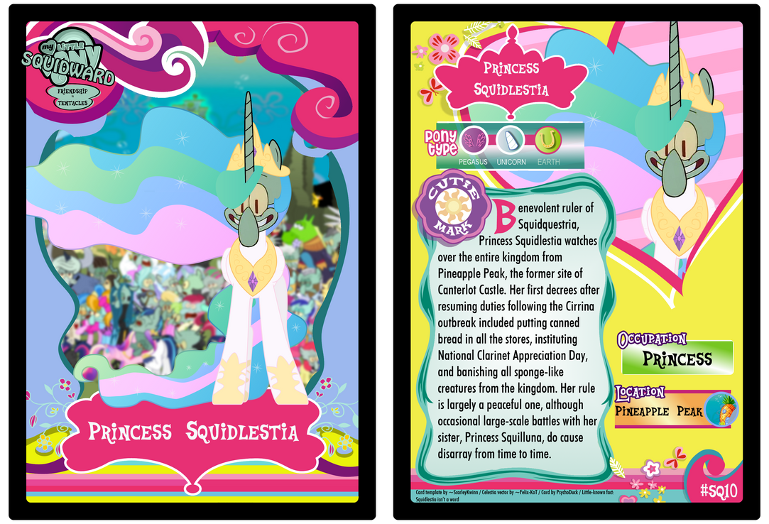 SQ10 - Princess Squidlestia by PsychoDuck21