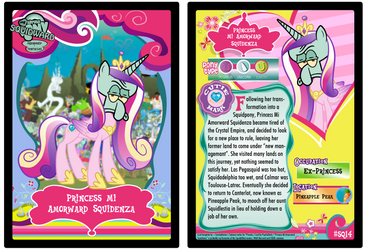 SQ14 - Princess Mi Amorward Squidenza by PsychoDuck21