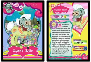 SQ16 - Granny Squid by PsychoDuck21