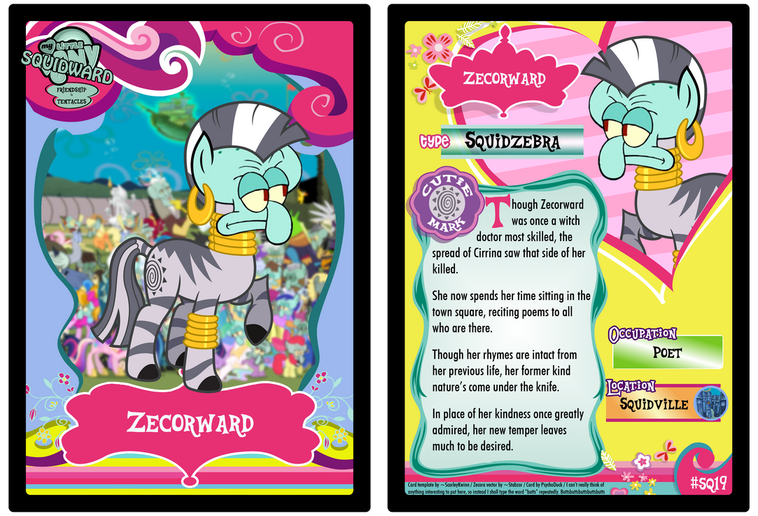 SQ19 - Zecorward by PsychoDuck21