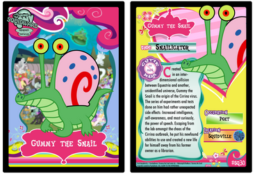 SQ30 - Gummy the Snail by PsychoDuck21