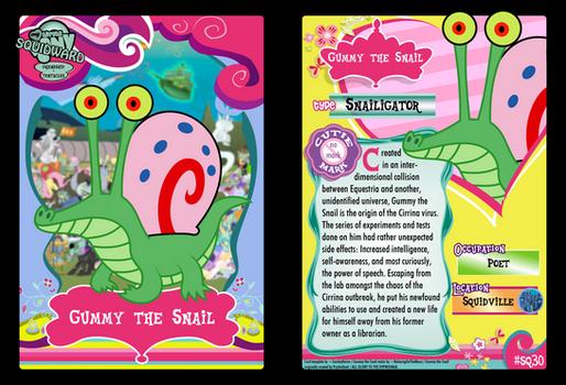 SQ30 - Gummy the Snail