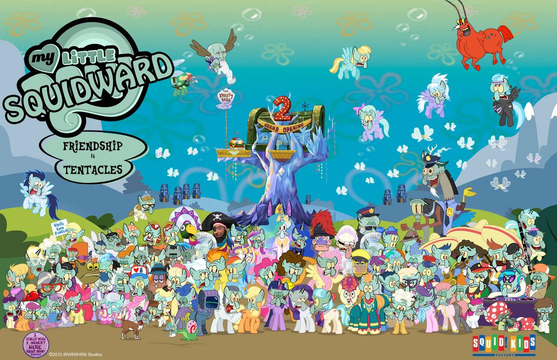 My Little Squidward: Season 4 Poster by PsychoDuck21