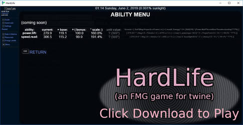 HardLife v0.27039 (public) - road to v0.30 by ShadowRx