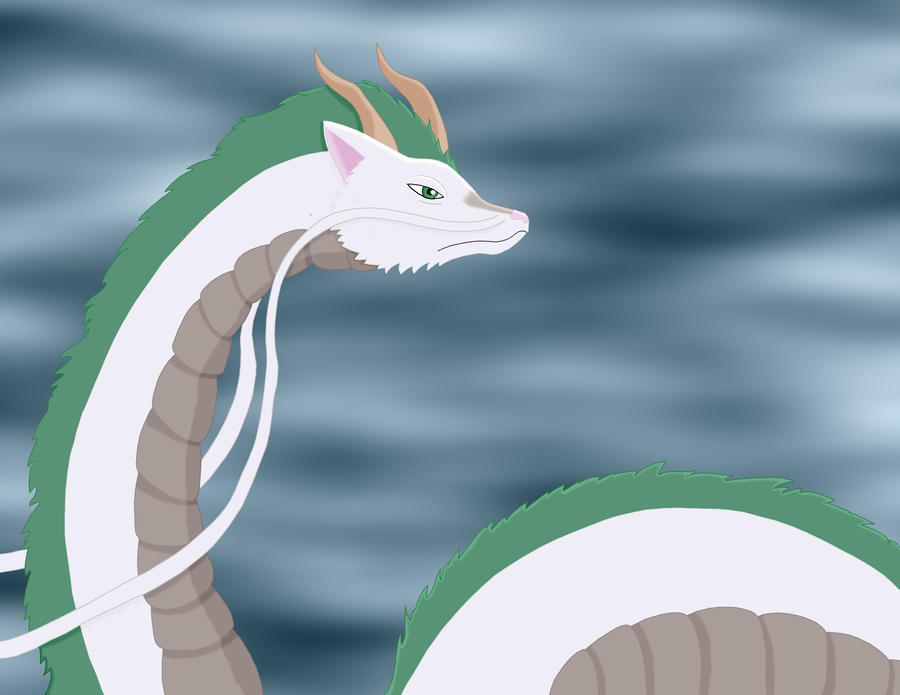 Spirited Away- Haku Dragon by Sandstormer