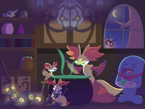 Delphox's Cauldron