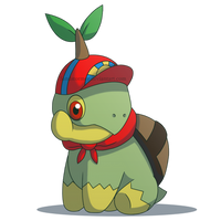 Commission: Franklin the Turtwig