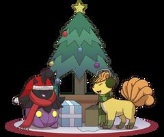 Commission: Shiny Christmas