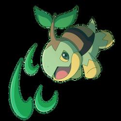 Turtwig-Razor Leaf