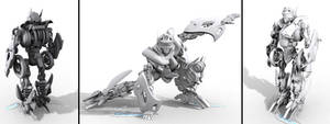 Kawasaki Ninja RR Bot Mode WIP