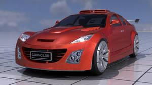 Mazda RX-8 Test Render