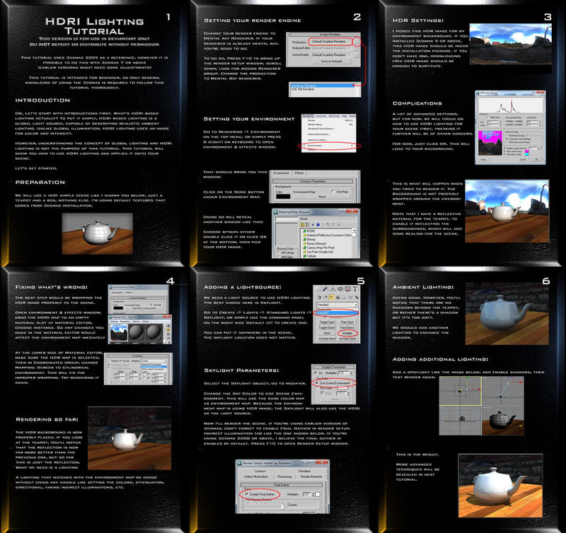 HDRI Lighting Tutorial by Councilor