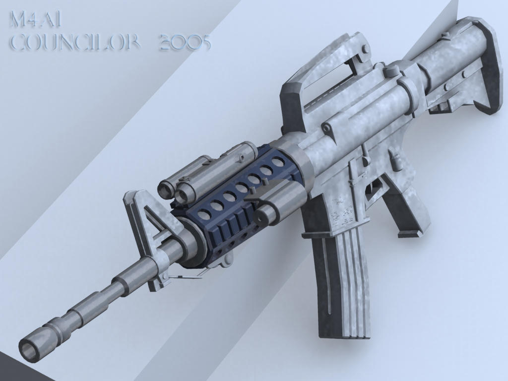 M4A1 Combat Assault Rifle by Councilor on DeviantArt