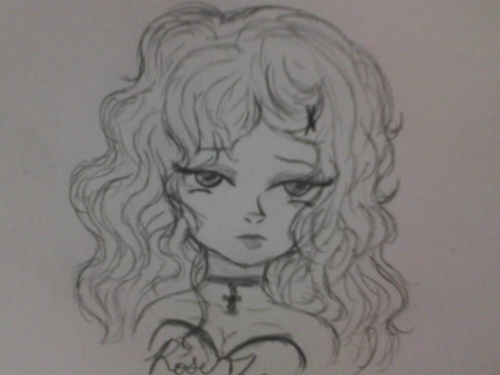 Rose Thorne sketch by Kat-Loves-Hatter