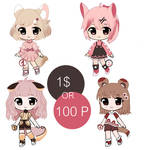 Adoptables batch -set price (OPEN) by Ellie-Adopts