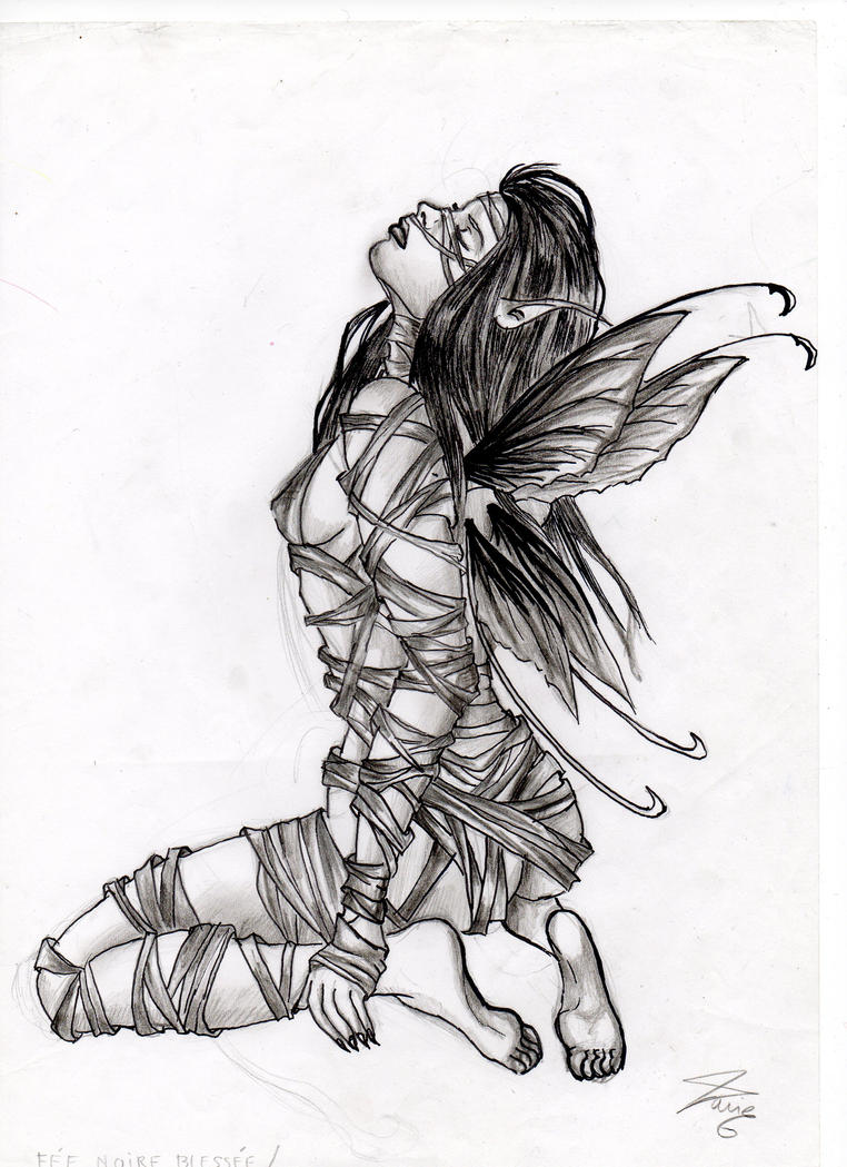dark fairy by krysta30 on deviantart