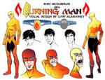 Rory Richardson the Burning Man  (Red King Press)