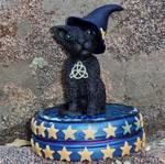 Halloween Black Cat Keepsake Tin