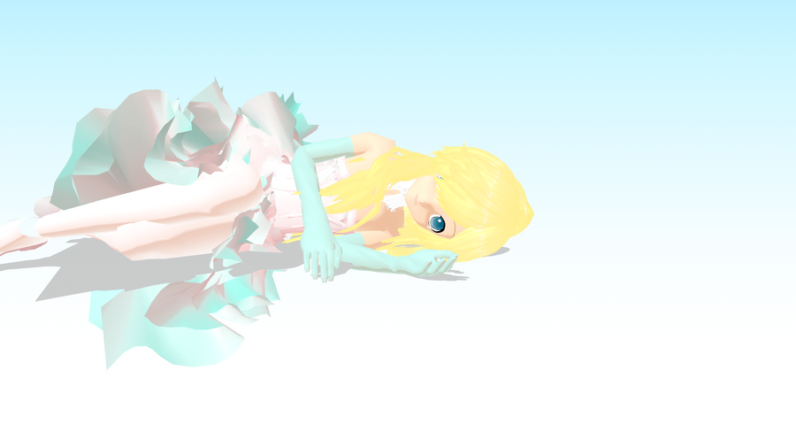 mmd angel 2 by crazyskatergurl