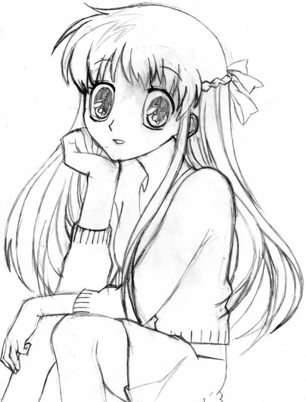 fruits basket coloring pages manga - photo#21