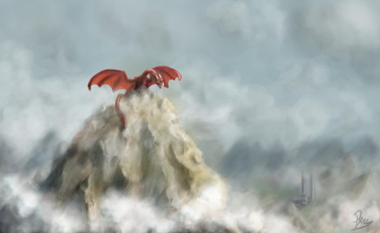 Dragon Mountain By Cepnox On DeviantArt