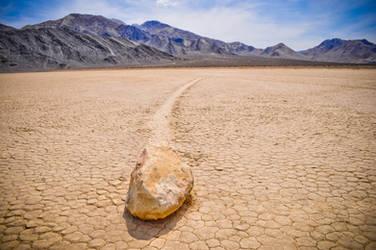 Death Valley Moving Rocks by xo-lexus-ox