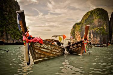 Maya Bay Long Boats by xo-lexus-ox