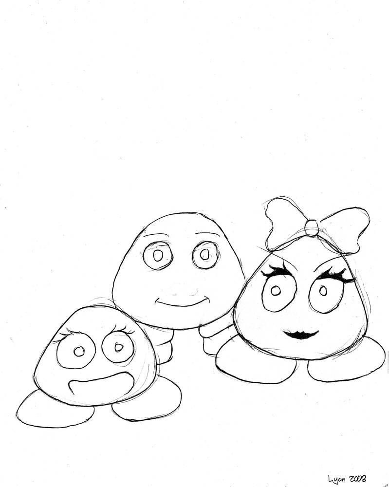 Children's Book 2008 The Fluffs 'Page 6'
